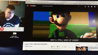 Video Game Rap Battle Reaction Luigi vs Tails