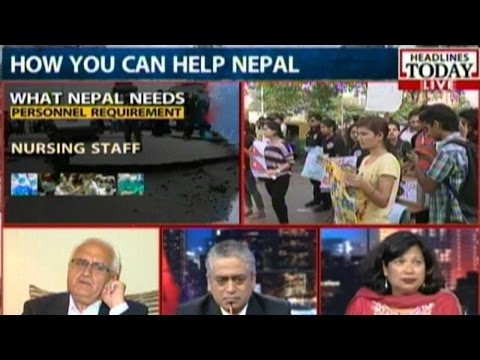 News Today At Nine: What Nepal Needs After The Earthquake