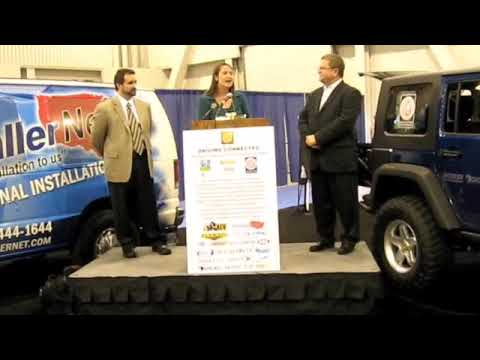 Michael Blicher Discusses MOBILEYE C2-170 Jeep Hemi Unveiled at SEMA 2009