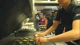 Real Egg Crackdown   McDonald's
