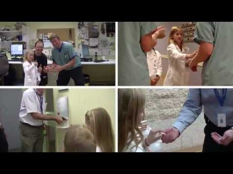 The S.I.C.K. Team (Special Infection Control Kids Team) - Hand Hygiene Music Video