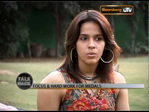 Talk Back with Saina Nehwal Seg 1