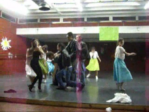 Grease Coreografía