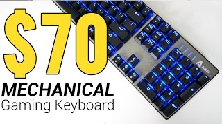 AUKEY KM-G3 Keyboard Review! - Not your average $70 Mechanical Gaming Keyboard!