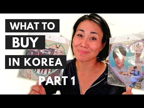 WHAT TO BUY IN KOREA ♥ (Part I of 2) ♥