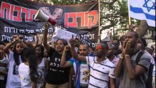 Ethiopian Jews Hold Protest In Tel Aviv Against Racism