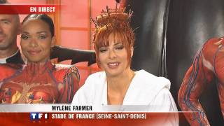 Mylène Farmer - Duplex en direct du Stade de France le 12 sept 2009