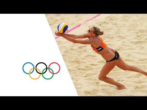 Beach Volleyball Women's Prel. - Pool D - Spain V Netherlands Replay -- London 2012 Olympic Games