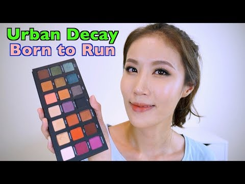 Celeste Wu 大沛 | UD Born to Run Palette 分享