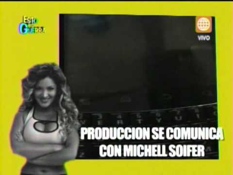 Esto es Guerra: ¿Michelle Soifer dejará el programa? - 12/07/2013