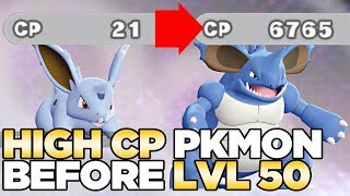 How to Get the Most Powerful Pokemon Before Level 50 - Pokemon Let's Go Pikachu & Eevee