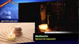 Meditación ejercicio de respiración