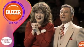 Family Feud - An answer that made Richard Dawson JUMP in shock! | Classic Games | BUZZR