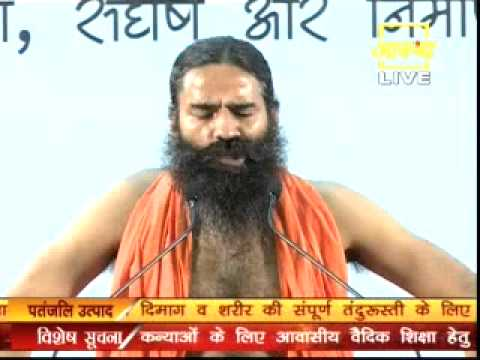 Morning Yoga Camp,Yuva Shivir by Swami Ramdev Date-17-06-2014