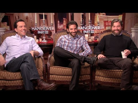THE HANGOVER PART III Interviews: Bradley Cooper, Ed Helms, Zach Galifianakis and Ken Jeong