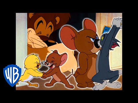 Tom & Jerry | Jerry's Super Team! | Classic Cartoon Compilation | WB Kids