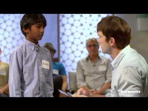 Ashton Kutcher Presents: Entrepreneurs on Lenovo Tablets Teaser Video