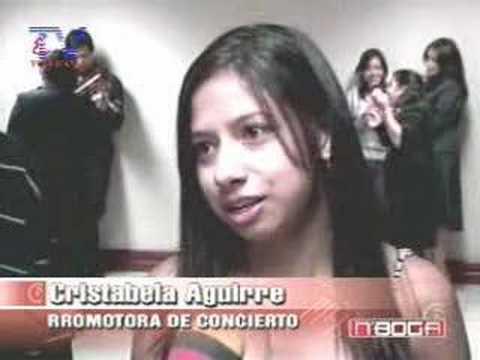Se realizó concierto Jóvenes tras las huellas de la música