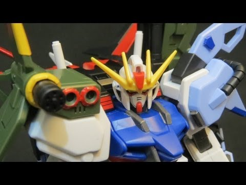 HG Perfect Strike Gundam (4: Verdict) Gundam Seed Mu La Flaga model review ガンプラ