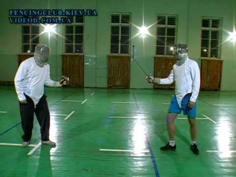 Уроки фехтования - видео