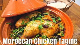 Moroccan Chicken Tagine With Couscous - How To Make Chicken Tagine - Simple Cooking Videos