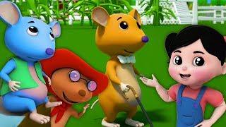 ba con chuột mù | Bài hát cho trẻ em | vần cho trẻ sơ sinh | Three Blind mice