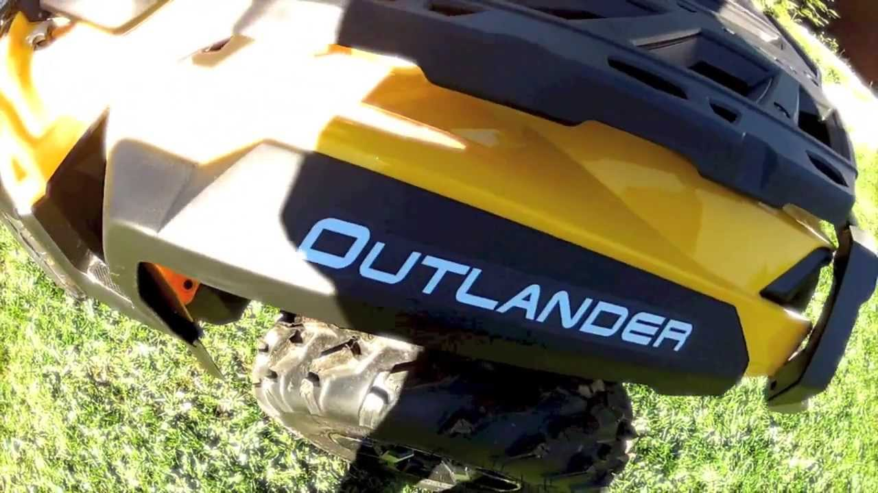 2014 Can Am Outlander 1000 Xt Gopro Hd Hero2 Youtube