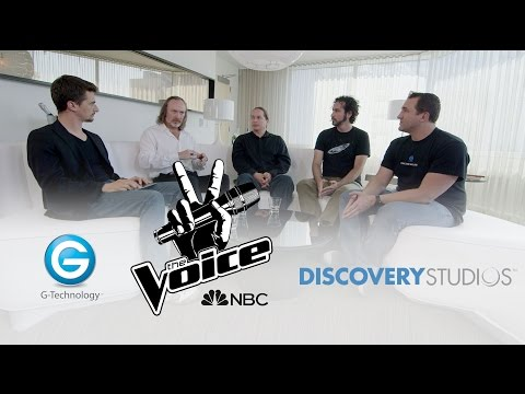 The Voice Editors, Discovery Studios media manager & G Technology - ON THE COUCH – Ep. 15