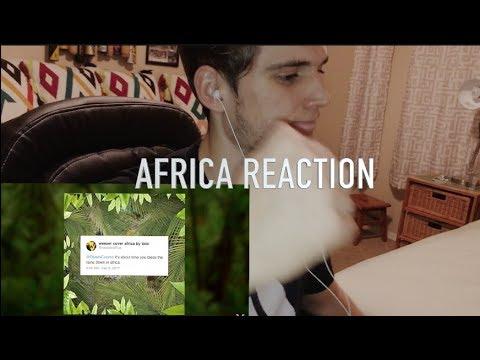 AFRICA WEEZER REACTION!!! BAMCAM COVER?!
