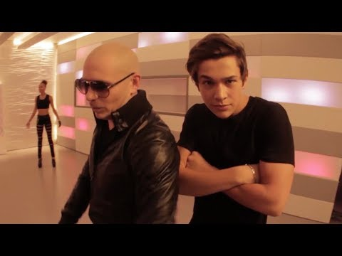 Austin Mahone - Mmm Yeah feat. Pitbull Music Video (Behind the...