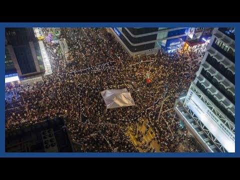 Hong Kong protest 2014: Clashes on the streets of HK | Report #2