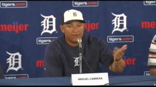 Tigers  Cabrera Gets Record $292M, 10-year Deal  (Sports)