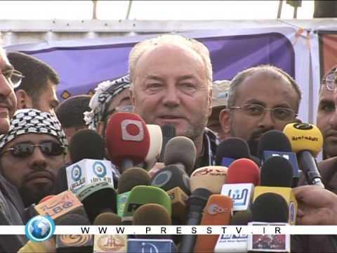 Viva Palestina News Reports - Arrival in Gaza (9 of 10)
