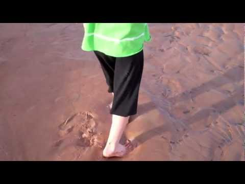 Quicksand Mud Sinking Woman