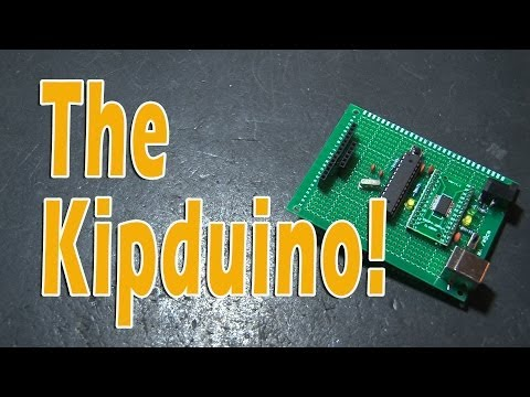 DIY Arduino -The Kipduino!
