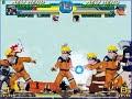 Stone Mario, Ghost Luigi Vs Naruto, Sasuke part 2