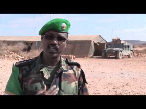 SOMALIA VIDEO NEWS REPORT: SOMALIA - DJIBOUTI TROOPS