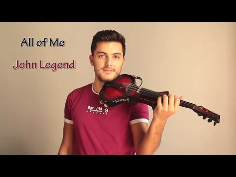 Download  All of Me - John Legend Violin Cover by Andre Soueid Gratis, download lagu terbaru