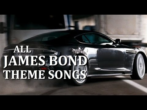 All James Bond Movie Theme Songs