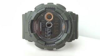 Обзор и настройка Casio G-Shock GD-100MS-3ER (Review and setting)