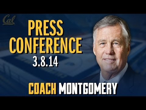 Cal Men's Basketball: Coach Montgomery Colorado Post-Game (3/8/14)