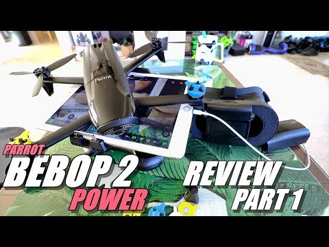 Parrot BEBOP 2 POWER EDITION Review - Part 1 - [UnBoxing. Inspection. Setup & UPDATING]