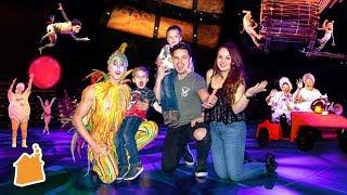 Crashing A Las Vegas Cirque Show! 😮