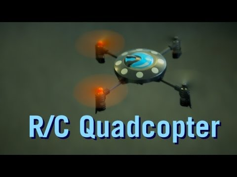 R/C Quadcopter from ThinkGeek