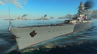 World of Warships - Dunkerque Triple Threat, 3x Perspective