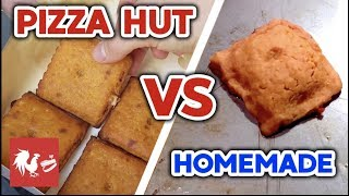 CHEEZIT PIZZA REAL VS HOMEMADE! | RT Life