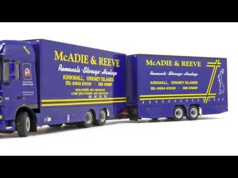 Model Truck World: WSI McAdie &amp; Reeve DAF
