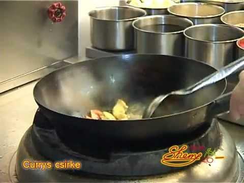 Currys csirke recept