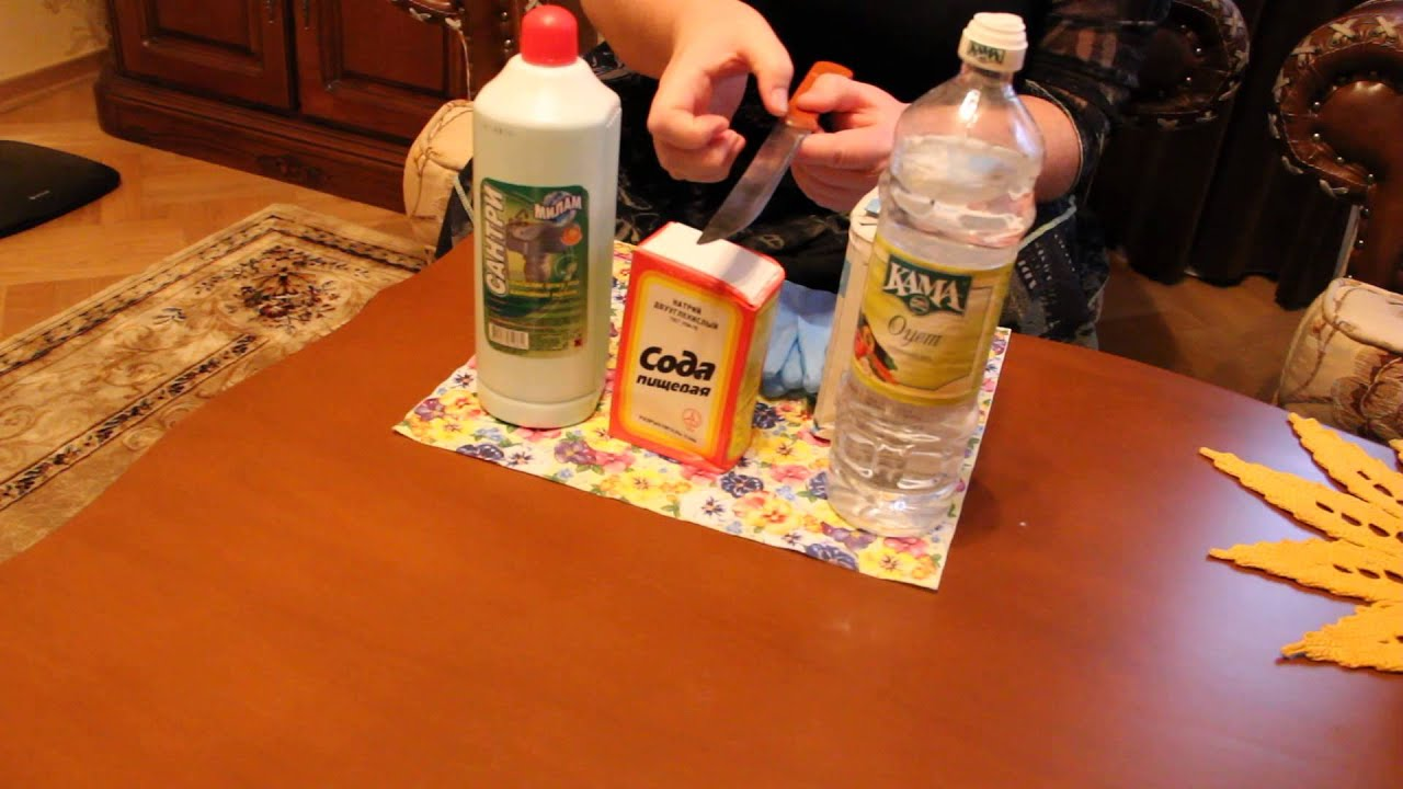 Как снять ржавчину в домашних условиях