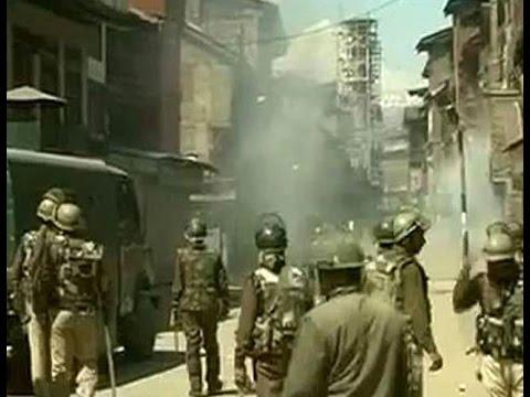 Yasin Malik arrested, clashes in Srinagar